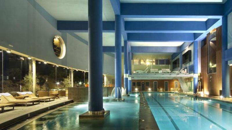 spa/heated pool hotel