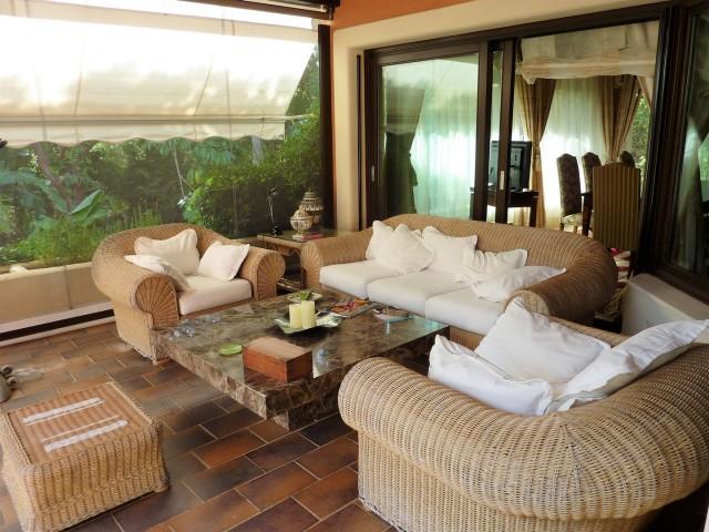 glased terrace