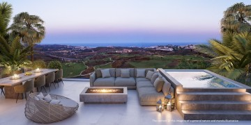 778290 - Penthouse for sale in Calanova Golf, Mijas, Málaga, Spain