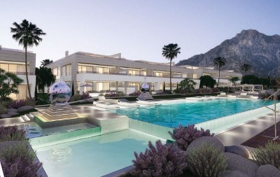 780172 - Penthouse Duplex For sale in Golden Mile, Marbella, Málaga, Spain