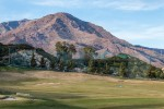 Golf with Mountain