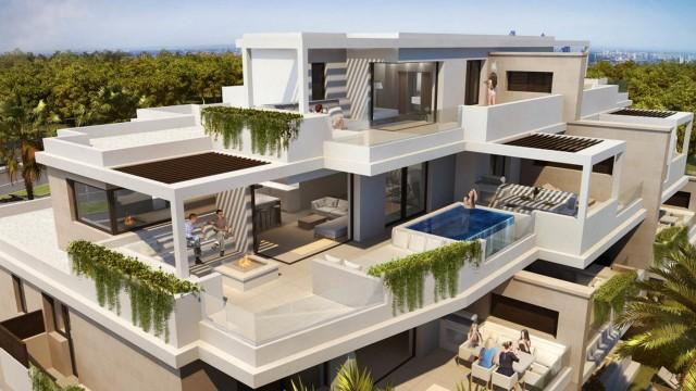 Duplex-Dachgeschosswohnung zu verkaufen auf El Velerín, Estepona, Málaga, Spanien
