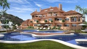 Luxury apartments in an exclusive community nestled between Las Brisas and Los Naranjos golf courses, Nueva Andalucia