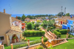 Town House for sale in Marbelah Pueblo, Marbella Golden Mile Hiszpania Reduced form 990k - Golden Mile - townhouse for sale & rent in Urb Marbellah Pueblo - walking distance to beach, shops, restaurants