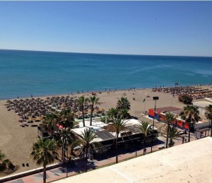 First Line Beach Penthouse on the Paseo Maritimo in Torremolinos FOR SALE
