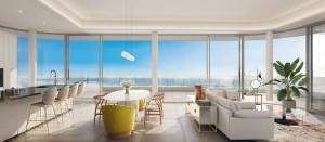 Luxury front line beach apartment in Torremolinos.