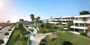 Upcoming new homes development in Estepona