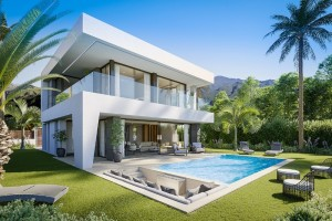 MODERN VILLA FOR SALE in Manilva on costa del sol  SOLD OUT MAY 2021