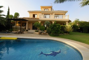 Villa for sale on Golden Mile - Marbella