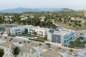 This is a promotion of 26 two and three-bedroomed apartments, with garden, solarium, green area and private swimming pool. This will be the third property development offer within the prestigious residential complex in Marbella, following the successful sale of our ONE promotion of 24 detached houses.