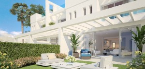 New Off-Plan Development of 48 Luxury Townhouses in Lower Calahonda, Mjas Costa