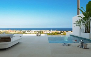 new, contemporary off-plan apartment project in Nueva Andalucía