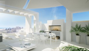 Costa del Sol  / Estepona (Málaga) Semi-detached homes by the beach on Costa del Sol.The perfect combination of sun and sea from your home by the beach.