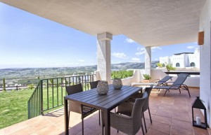 726544 - Garden Apartment For sale in Casares, Málaga, Spain