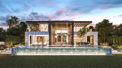 778054 - Villa For sale in New Golden Mile, Estepona, Málaga, Spain