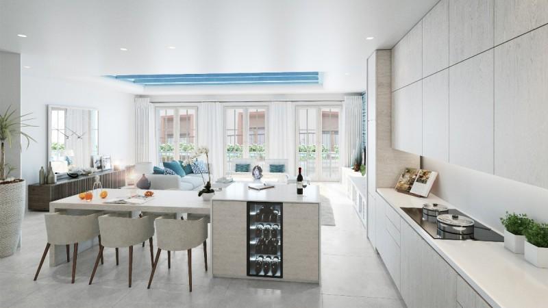 New apartments Marbella Centre fist floor living
