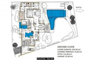 Ground floor · floor plan