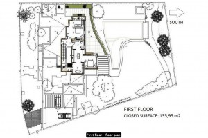 First floor · floor plan