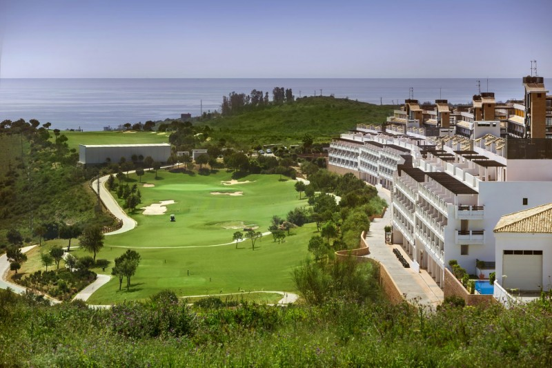 Complex, golf course