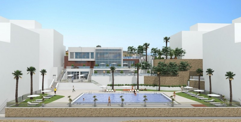 Image of upgraded pool- & reception area