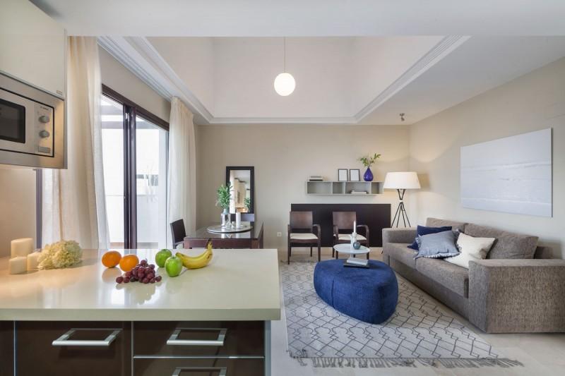 Living room (penthouse unit 1)