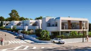 Townhouse Sprzedaż Nieruchomości w Hiszpanii in New Golden Mile, Estepona, Málaga, Hiszpania