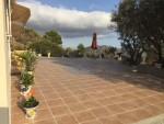 New terrace