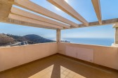 Terrace and sea views