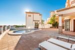 Main terrace & pool