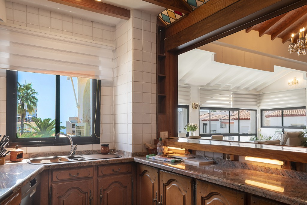 Kitchen & views
