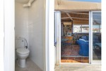 Toilet & access to conservatory