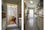 Kitchen & laundry room