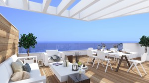782214 - Atico - Penthouse for sale in Torrox Costa, Torrox, Málaga, Spain