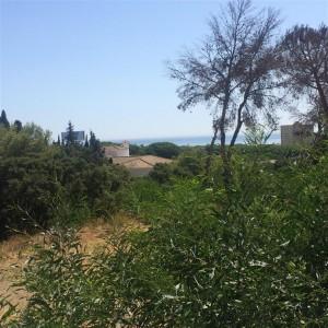 Super plot in Hacienda Las Chapas with Sea Views