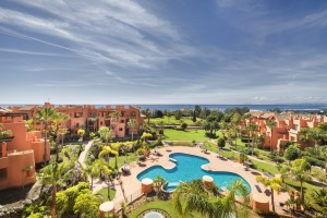 2 bed garden apartment on New Golden Mile, Estepona