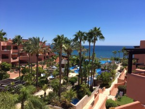 Ultra luxurious fronline beach penthouse in Estepona