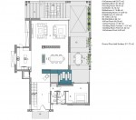 ground floor living accomodation plan