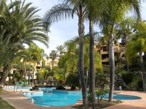2 bed luxury apartment in El Campanario with panoramic West facing views