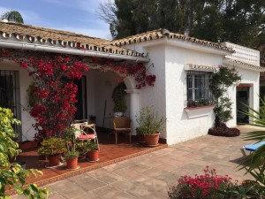 Beachside bungalow style villa on one level in El Saladillo