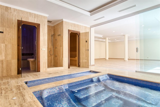 33 Indoor pool sauna and steam room (Custom)