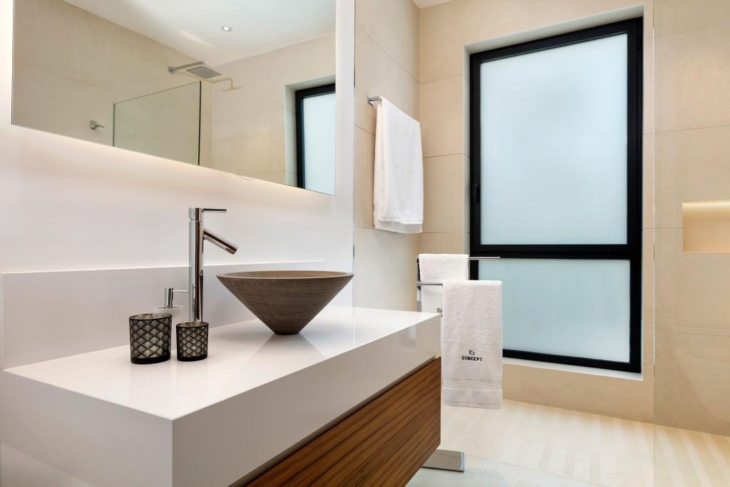 Moderni architektura koupelna