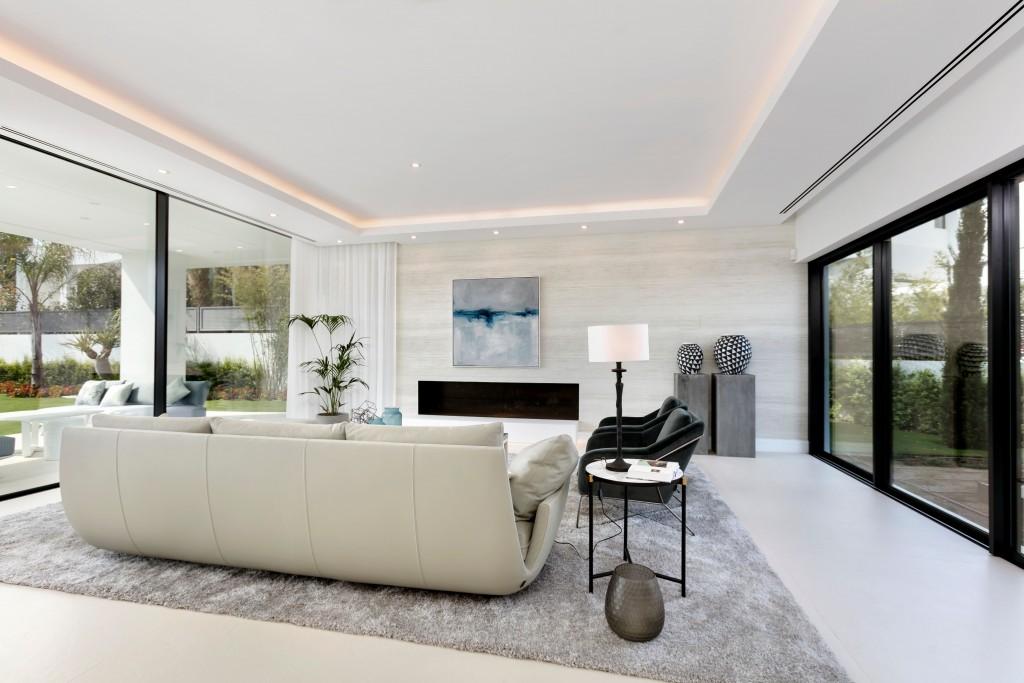 Moderni interier design vila Marbella