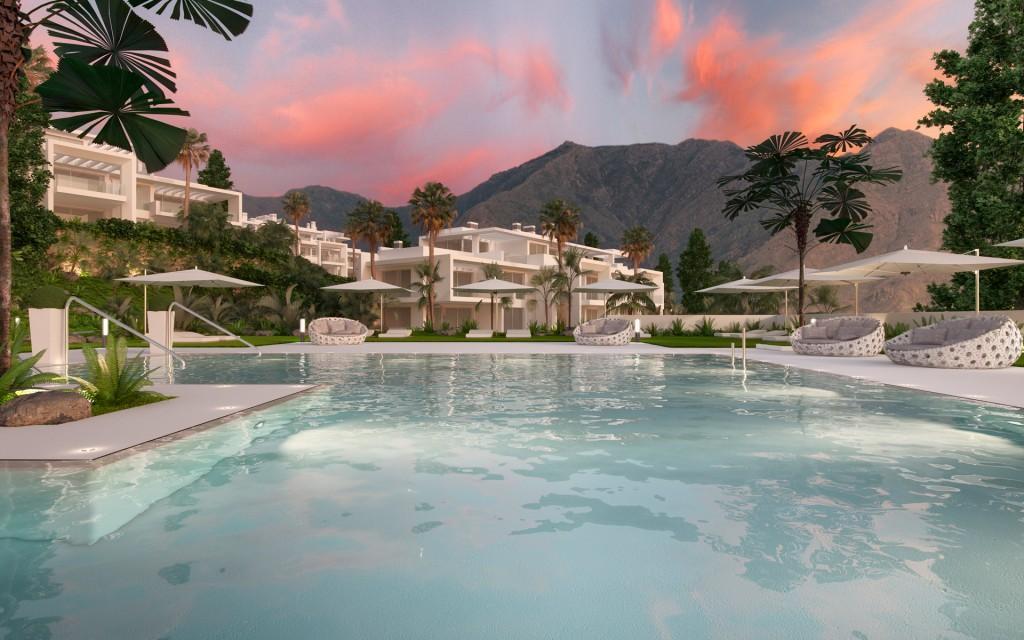 Developersky projekt Costa del Sol Casares exterier