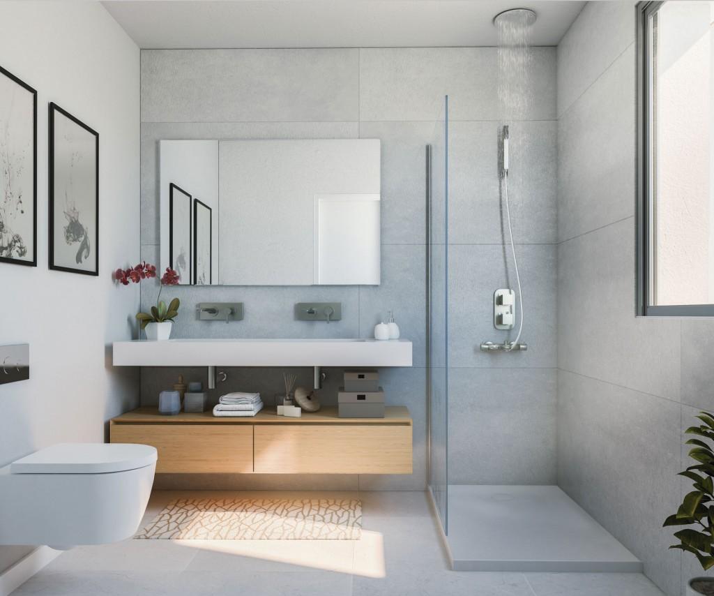 Interier rezidencni projekt koupelna