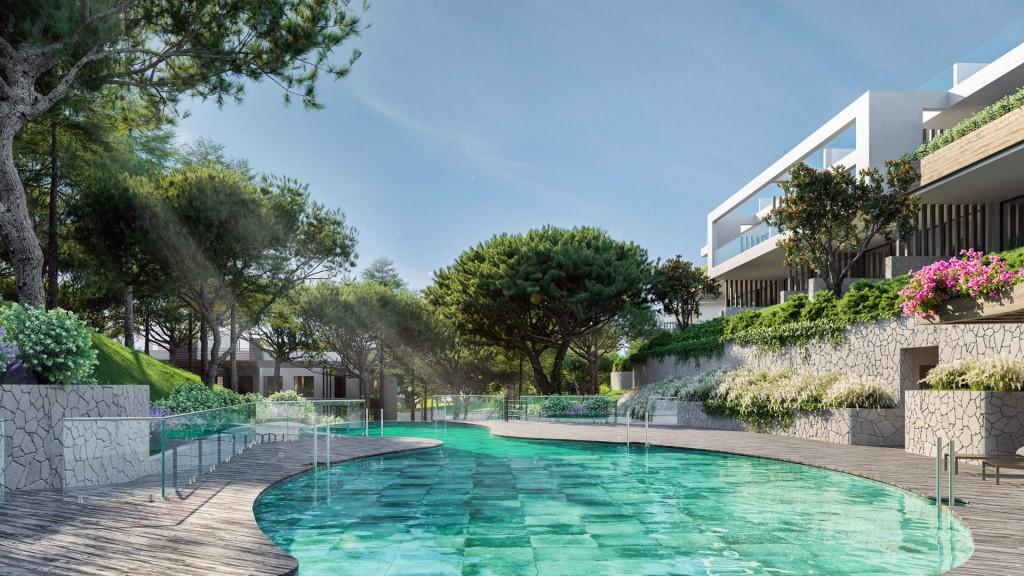 Luxusni developersky projekt Marbella Cabopino exterier