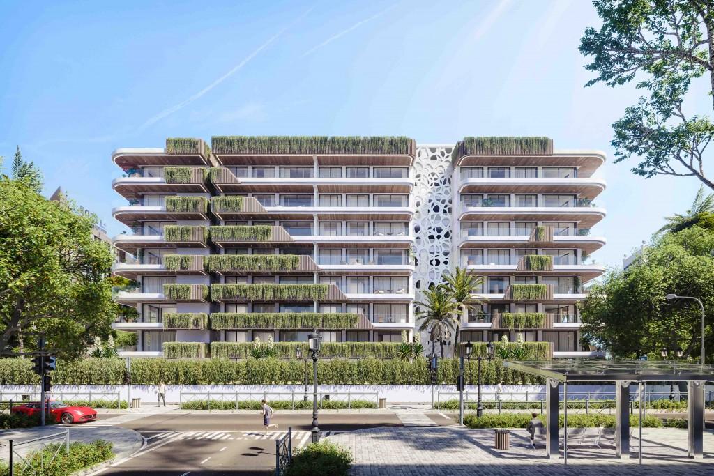 Moderni architektura Slunecni pobrezi