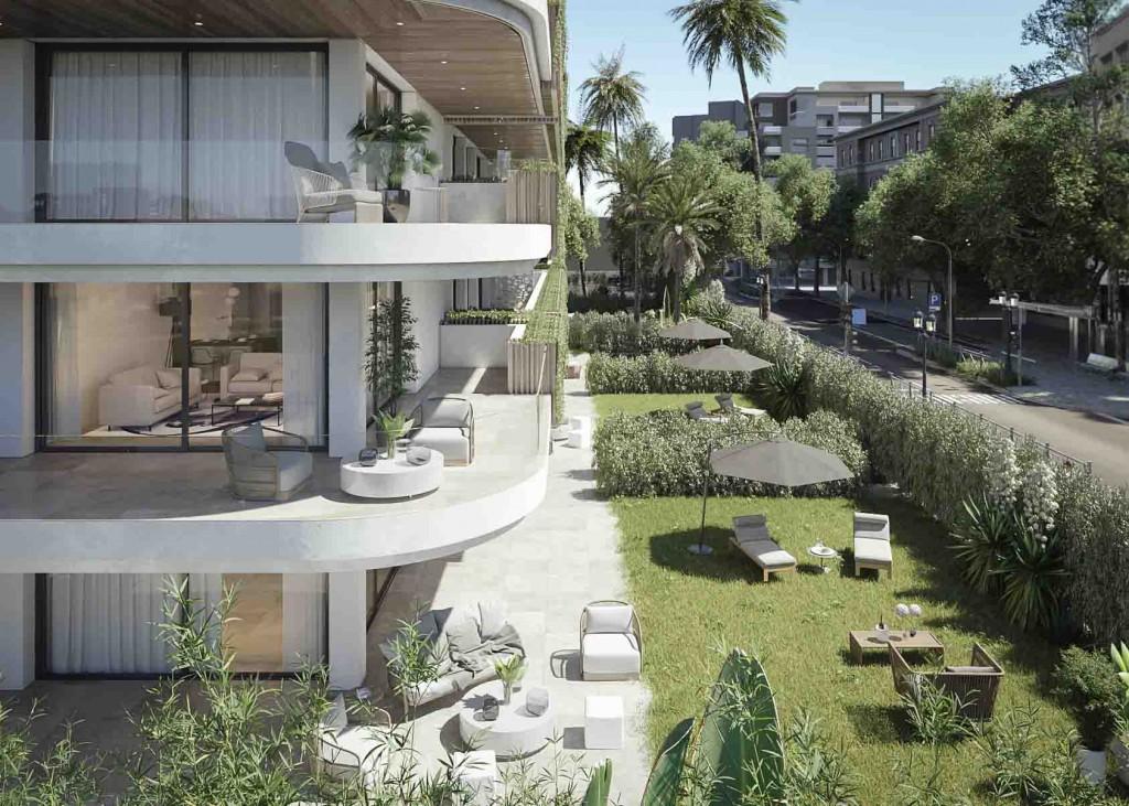 Zahradni apartman u more