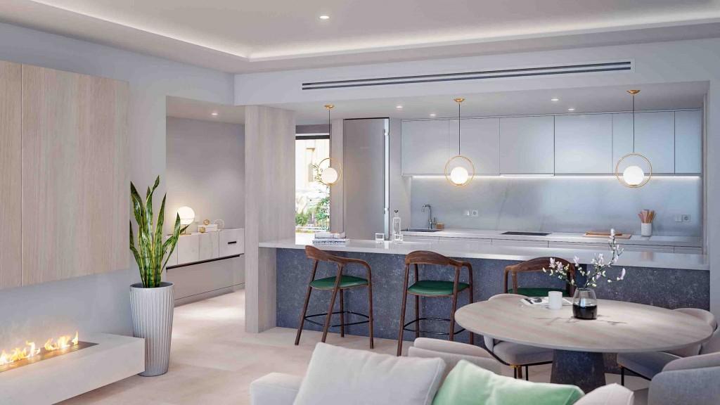 Moderni apartman u more