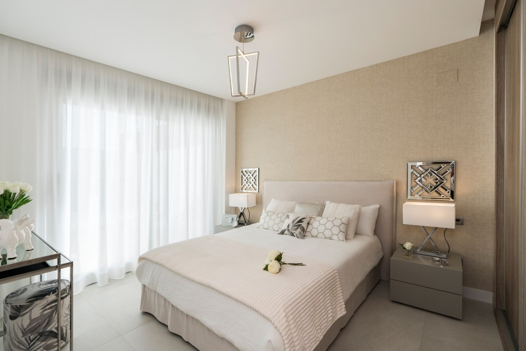 Golfovy apartman interier loznice
