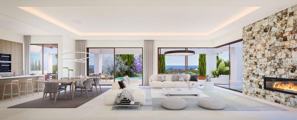 Marbella moderni vila interier